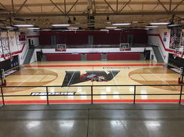 Take a look at Wapahani's sharp new gym floor